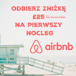 zniżka airbnb podróżovanie